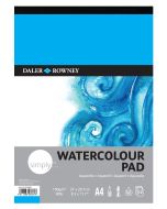 Daler Rowney Simply Watercolour Pad A4