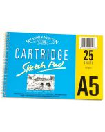 Winsor & Newton Cartridge Pad 25 Sheets 110gsm A5