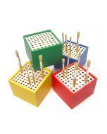Major Brushes Plastic 64 Hole Brush Stand