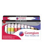 Daler Rowney Georgian Water Mixable Oil Introduction Set 10 x 20ml