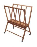 Mabef M/40 Extra Large Wooden Print Rack with Wheels