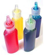 Major Brushes Glass Paints Set of 4 x 20ml Colours