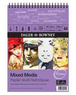 Daler Rowney Optima Mixed Media A4 Spiral Pad