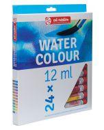 Talens Art Creation Water Colour Paint Tube Set 24 x 12ml I Art Supplies