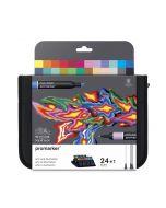 Winsor & Newton Promarker Arts & Illustration Wallet 24 Set
