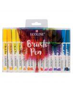 Talens Ecoline Watercolour Brush Pen Set of 30