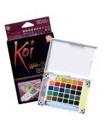 Sakura Koi Watercolours Pocket Field Sketch Box 30 Colours