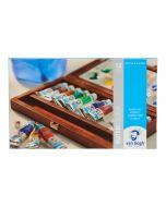 Van Gogh Wooden Box Watercolour Tube Set 12 x 10ml