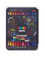 Uni POSCA Pastel Box Set 24 Colours