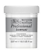Winsor & Newton Professional Acrylic 237ml (644 Titanium White)