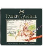 Faber-Castell Albrecht Durer Magnus Watercolour Pencils 12 Tin