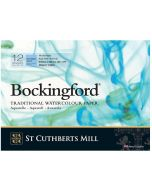 Bockingford Cold Pressed 300gsm Watercolour Glued Pads