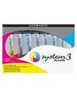 Daler Rowney System 3 Original Acrylic Jumbo Selection Set 8 x 150ml