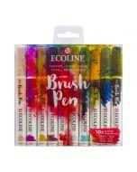 Ecoline Brush Pen Fashion Set of 10