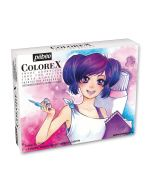 Pebeo Colorex Ink Manga Set 10 x 20ml from The Art Shop Skipton