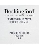 Bockingford 300gsm CP Watercolour Painting Paper A4 I Art Supplies