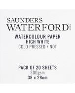 Saunders Waterford 300gsm CP Watercolour Paper 28 x 38 cm I Art Supplies