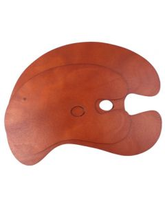 Wooden Kidney Shaped Palettes