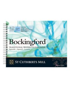 Bockingford Spiral Bound Cold Pressed 300gsm Watercolour Pads