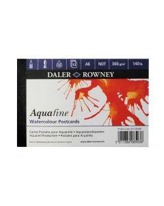 Daler Rowney Aquafine Watercolour 12 Sheet Postcard Pad