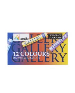 Inscribe Gallery Oil Pastels Set of 12 Colours