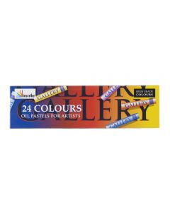 Inscribe Gallery Oil Pastels Set of 24 Colours