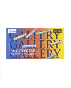 Inscribe Gallery Oil Pastels Set of 48 Colours