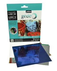 Pebeo Gedeo Mirror Effect Leaves Discovery Set (Assorted Colour)