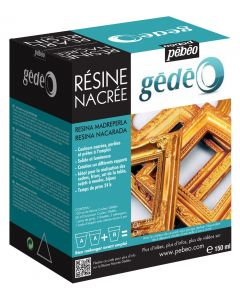 Pebeo Gedeo Pearl Resin Making Kit 150ml Colour Gold