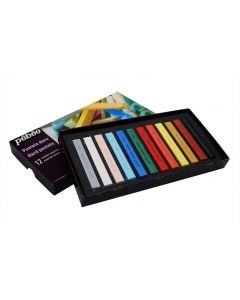 Pebeo Hard Pastels Set of 12 Assorted Colours