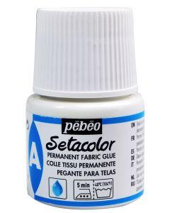 Pebeo Setacolor Auxiliaries Permanent Fabric Glue 45ml