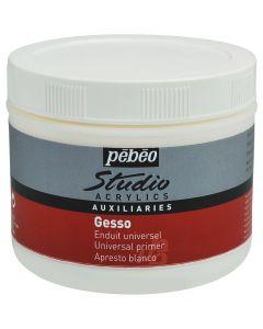 Pebeo Studio Acrylics White Gesso Primer 500ml