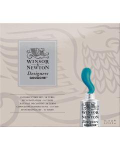 Winsor & Newton Designers Gouache Introductory Set 10 x 14ml