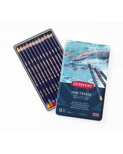 Derwent Inktense Pencils 12 Tin