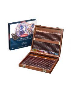 Derwent Coloursoft Pencils 48 Wooden Box