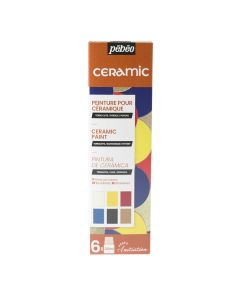 Pebeo Ceramic Initiation Set 6 x 20ml