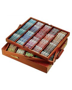 Sennelier Extra Soft Pastels Luxury Wooden Box Sets - The Royal Selection