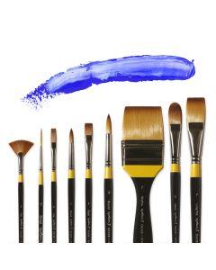 Daler Rowney System 3 Acrylic Round Brushes