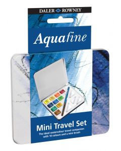 Daler Rowney Aquafine Watercolour Mini Travel Set