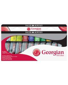 Daler Rowney Georgian Oil Colour Selection Set 10 x 38ml