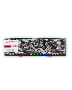 Conte a Paris Artists Soft Pastels 20 Assorted Colours