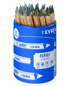 Lyra Ferby Chunky Graphite Pencil Pot of 36