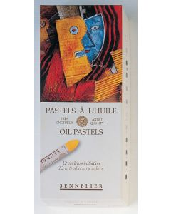 Sennelier Oil Pastels 12 Introductory Colours