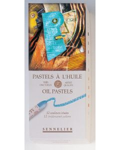 Sennelier Oil Pastels 12 Iridescent Colours