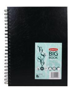 Derwent Big Book Wire Bound Sketch Book A4