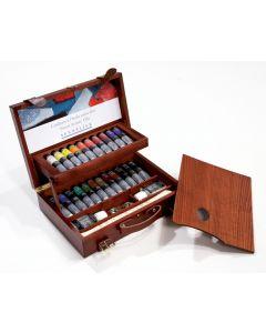 Sennelier Artists Oil Colour Wooden Box Set 22 x 40ml