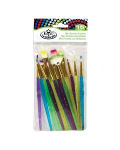 Royal & Langnickel Mini Sparkle Brushes Set of 15