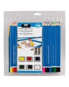 Royal & Langnickel Watercolour Pencil Art Set (19 Piece)