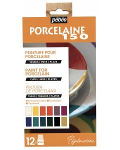 Pebeo Porcelaine 150 Exploration Set #1 12 x 20 ml