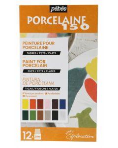 Pebeo Porcelaine 150 Exploration Set #2 12 x 20 ml